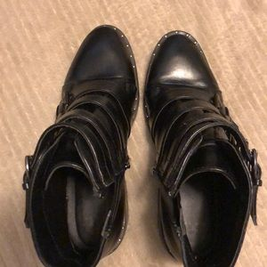 a new day Shoes - A New Day black buckled boots